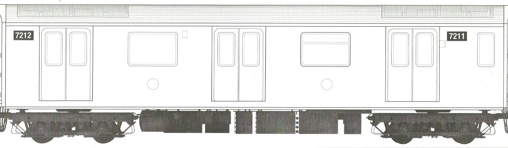 Blank Train Canvas