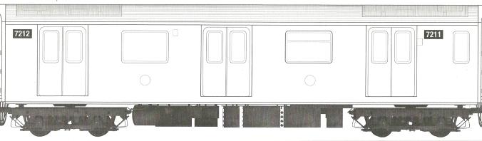 Blank Train Canvas