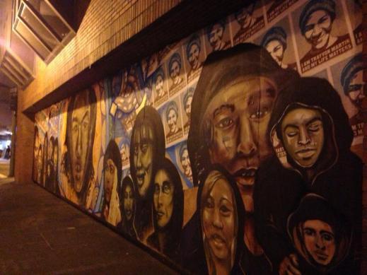 Trayvon Mural in Oakland