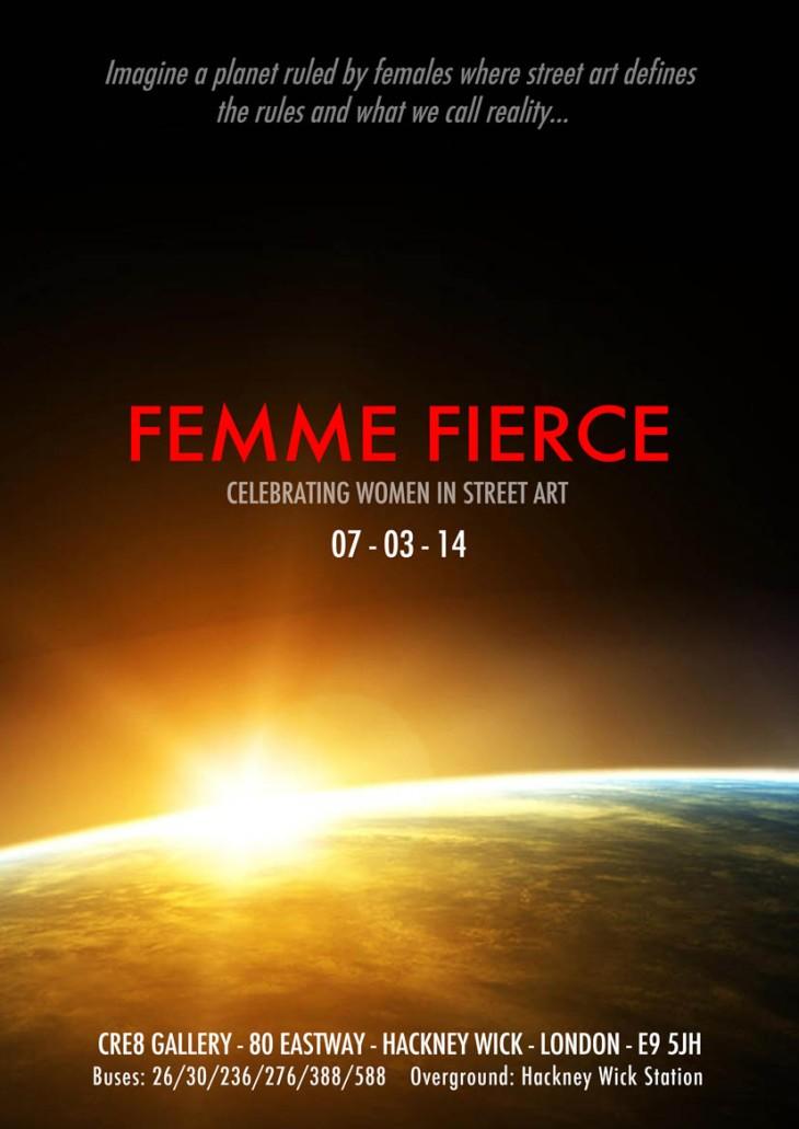 Femme Fierce Flyer Front