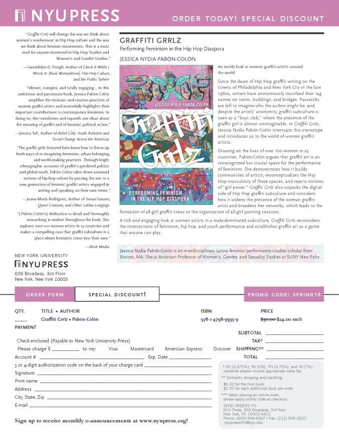 order form Pabon-colon Flyer