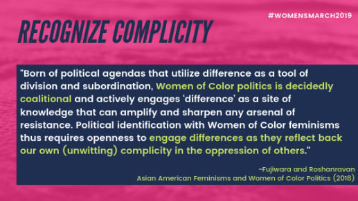 recognize complicity